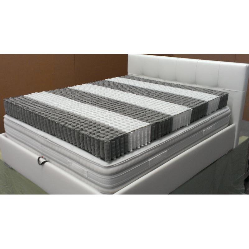 Materasso Ergonomico A 1600 Molle Indipendenti E Memory Foam.Micro Molle Insacchettate Zone Differenziate Padova Provincia Solesino